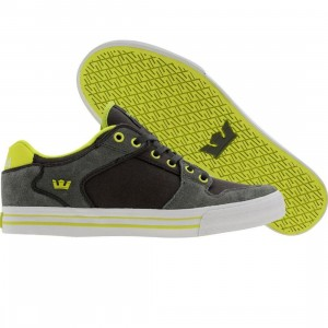 Supra Vaider Low (grey suede / neon)