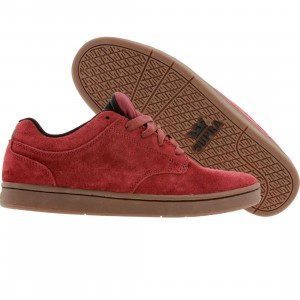 Supra Dixon (burgundy canvas / gum)