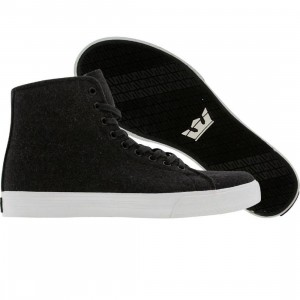 Supra Thunder Hightop (Charcoal wool suit)