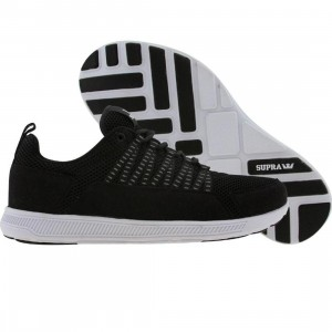 Supra Men Owen - Fast (black mesh / microfiber / white)