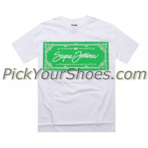 Supra Label Tee (white)