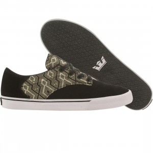 Supra Men Pistol (black / tan / white)