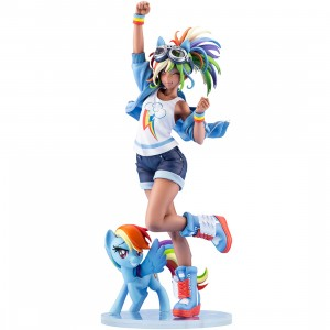 PREORDER - Kotobukiya My Little Pony Rainbow Dash Bishoujo Statue (blue)