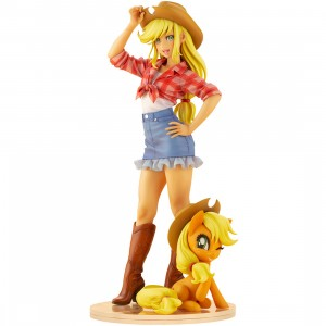 PREORDER -  Kotobukiya My Little Pony Applejack Bishoujo Statue (tan)