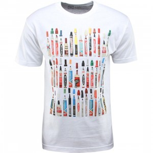 The Seventh Letter Vintage Markers Tee (white)