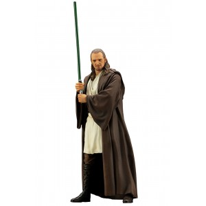 Kotobukiya ARTFX+ Star Wars The Phantom Menace Qui-Gon Jinn Statue (brown)
