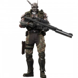 Sideshow Collectible Briareos Hecaton Appleseed 1/6 Scale Figure (gray / black)