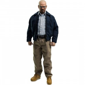 Sideshow Collectible Heisenberg Breaking Bad by Threezero 1/6 Scale Collecitible Figure (navy)