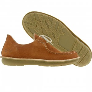 Timberland Pozu Moc Toe Oxford (rust suede brown)