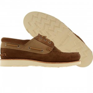 Timberland Abington 3 Eye Boat (camel suede)