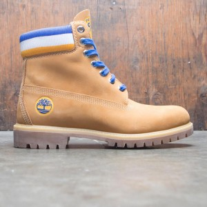 Timberland x Mitchell and Ness NBA Men 6 Inch Boot - Golden State Warriors (brown / wheat)