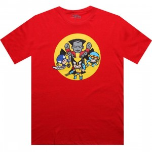Tokidoki x Marvel X Men Attack Tee (red)