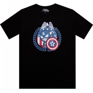 Tokidoki x Marvel Star Spangled Tee (black)