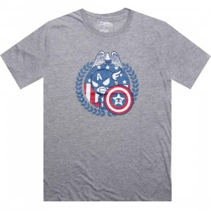 Tokidoki x Marvel Star Spangled Tee (heather grey)