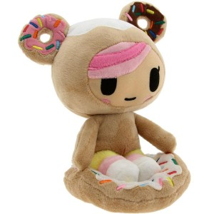 Tokidoki Donutella Plush (brown / pink / black)
