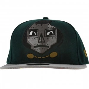 Tokidoki x Marvel Doom New Era Fitted Cap (dark green / grey)