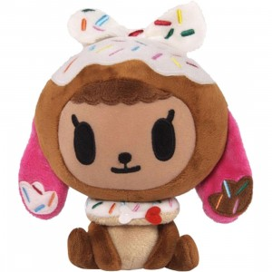 Tokidoki Donutina Plush (brown / white)