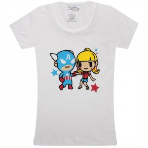 Tokidoki x Marvel Womens Lets Dance Tee (white)