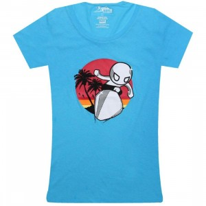 Tokidoki x Marvel Womens Sunset Surfer Tee (ice)