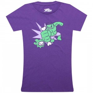 Tokidoki x Marvel Womens Barking Bone Tee (purple)