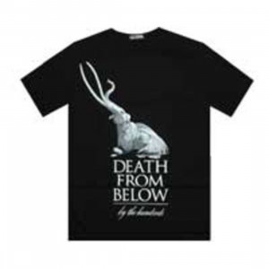 The Hundreds Death From Below Tee (black)