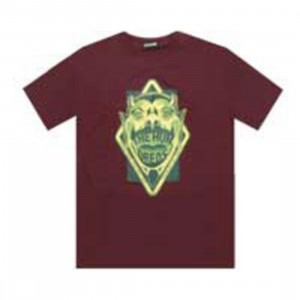 The Hundreds Devil Tee (burgundy)