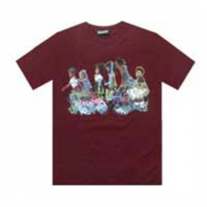The Hundreds Kids Tee (burgundy)