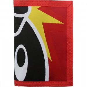 The Hundreds Adam Tri-Fold Wallet (red)
