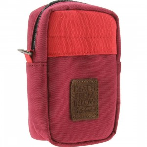 The Hundreds Shutter Camera Bag (red)