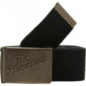 The Hundreds Sneak Scout Belt (black)