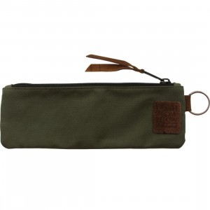 The Hundreds Ration Pencil Case (olive)