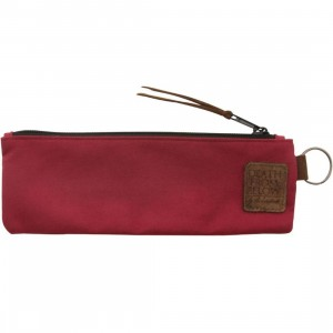 The Hundreds Ration Pencil Case (red)
