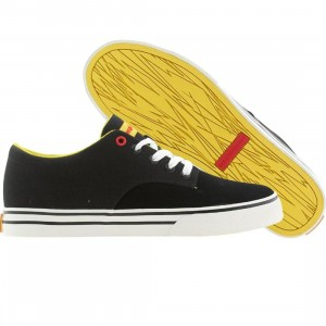 The Hundreds Men Johnson Low (black / suede)