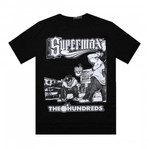 The Hundreds Supermax Curb Tee (black)