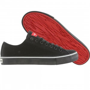 The Hundreds Valenzuela Canvas (black / white / red)