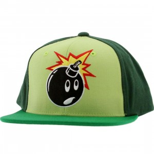 The Hundreds Adam Snapback Cap (green)
