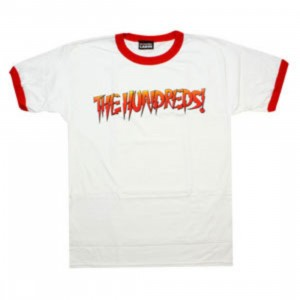 The Hundreds Hot Rod Tee (white / red)
