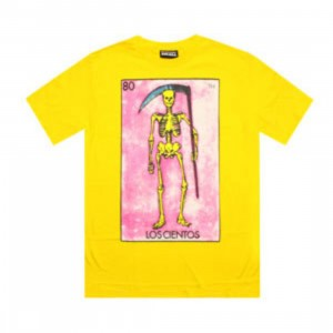 The Hundreds Muerte Tee (yellow)