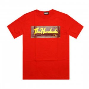 The Hundreds TH Signature Tee (red)