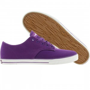 The Hundreds Johnson Low Canvas (purple)