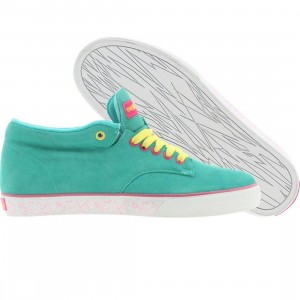 The Hundreds Johnson Mid Top (turquoise)