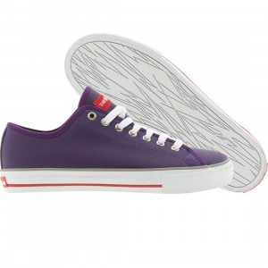 The Hundreds Valenzuela Low Top (purple)