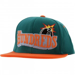 The Hundreds Shutout Snapback Cap (teal)