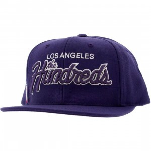 The Hundreds Team Two Snapback Cap (purple)