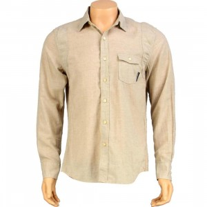 The Hundreds Compass Long Sleeve Shirt (cream)
