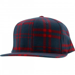 The Hundreds Bruh Bruh Snapback Cap (blue)