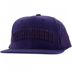 The Hundreds Player Snapback Cap (purple)