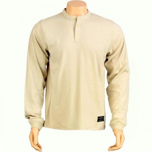 The Hundreds Spruce Thermal Long Sleeve Tee (cream)