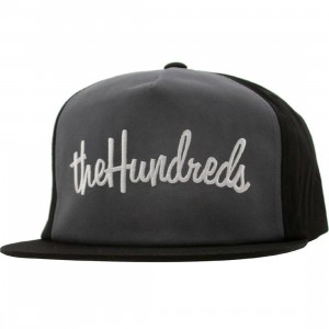 The Hundreds There Snapback Cap (black)