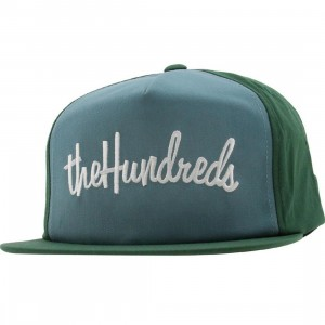 The Hundreds There Snapback Cap (forest green)